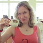 Gina at Garden View Tea Room